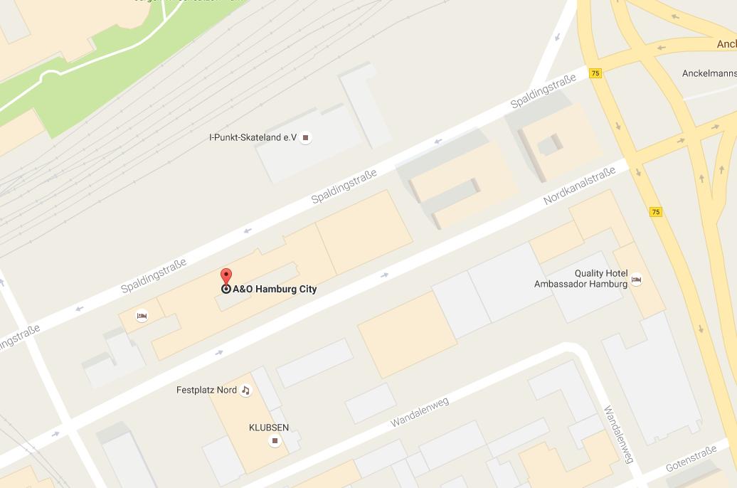 A&O Hostel Hamburg City